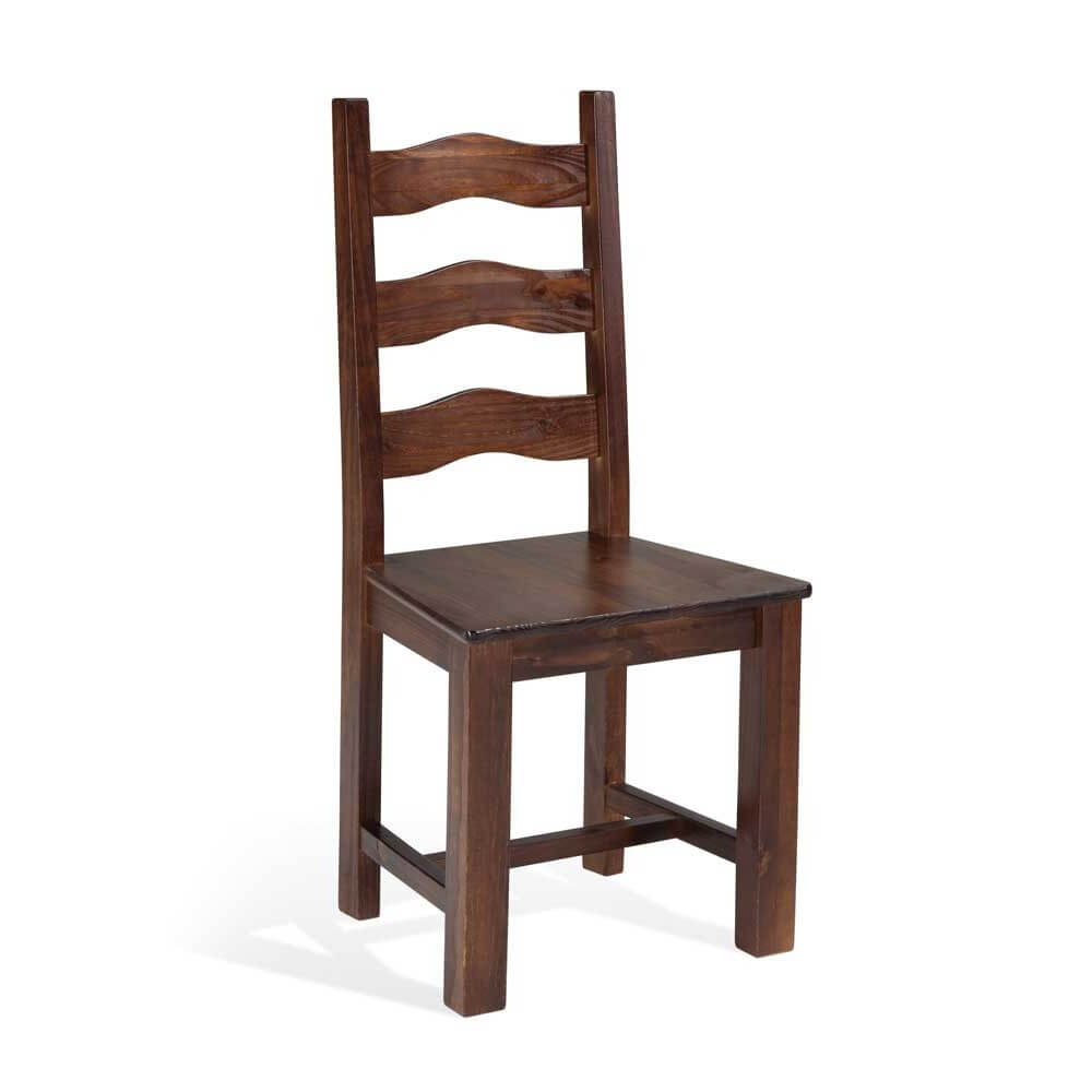 Tlmh silla madera pino macizo modelo harry for Modelos de sillas de madera para comedor