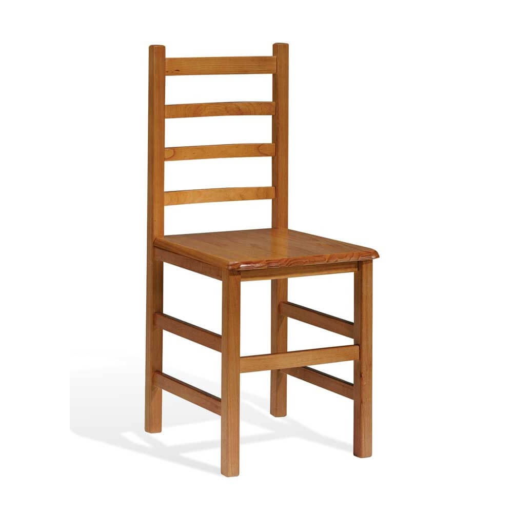 Compra silla madera pino macizo modelo jara for Sillas modelos madera
