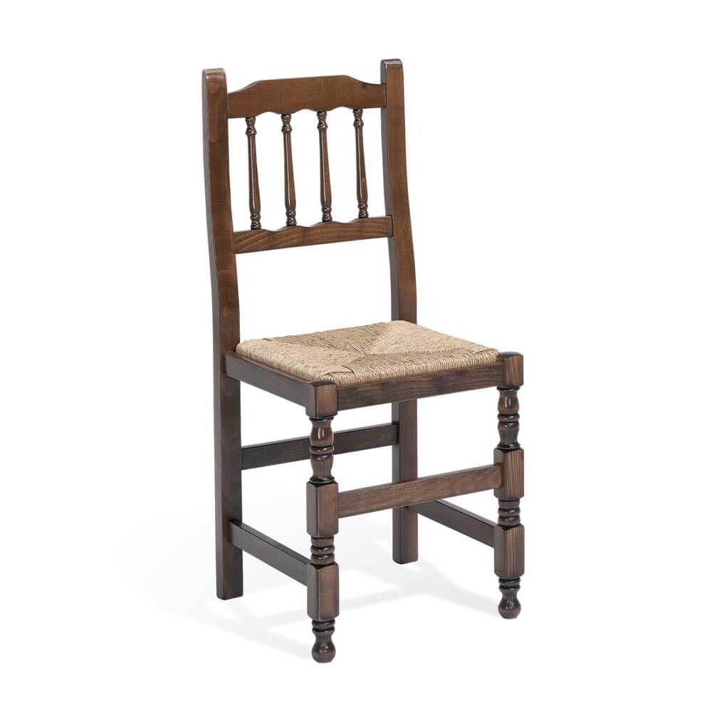 silla madera torneada haya modelo ebon