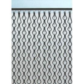 Cortina aluminio exterior antimoscas SB a medida
