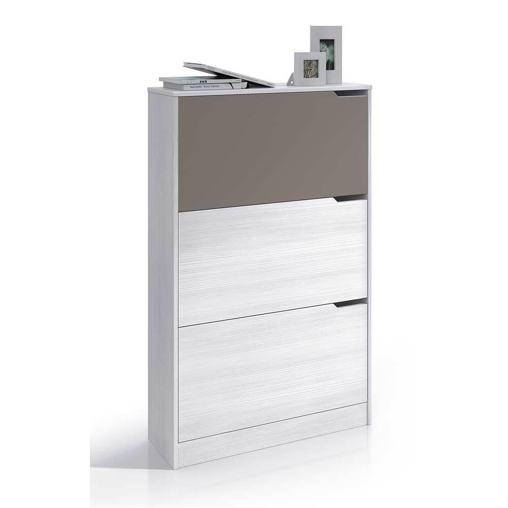 Fzmj comprar zapatero mueble kit 3 puertas modelo jazz for Zapatero grande barato