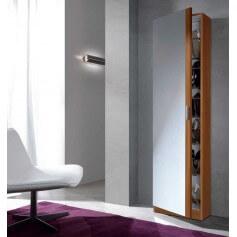 Mueble zapatero Kit 1 puerta + espejo modelo Coral III