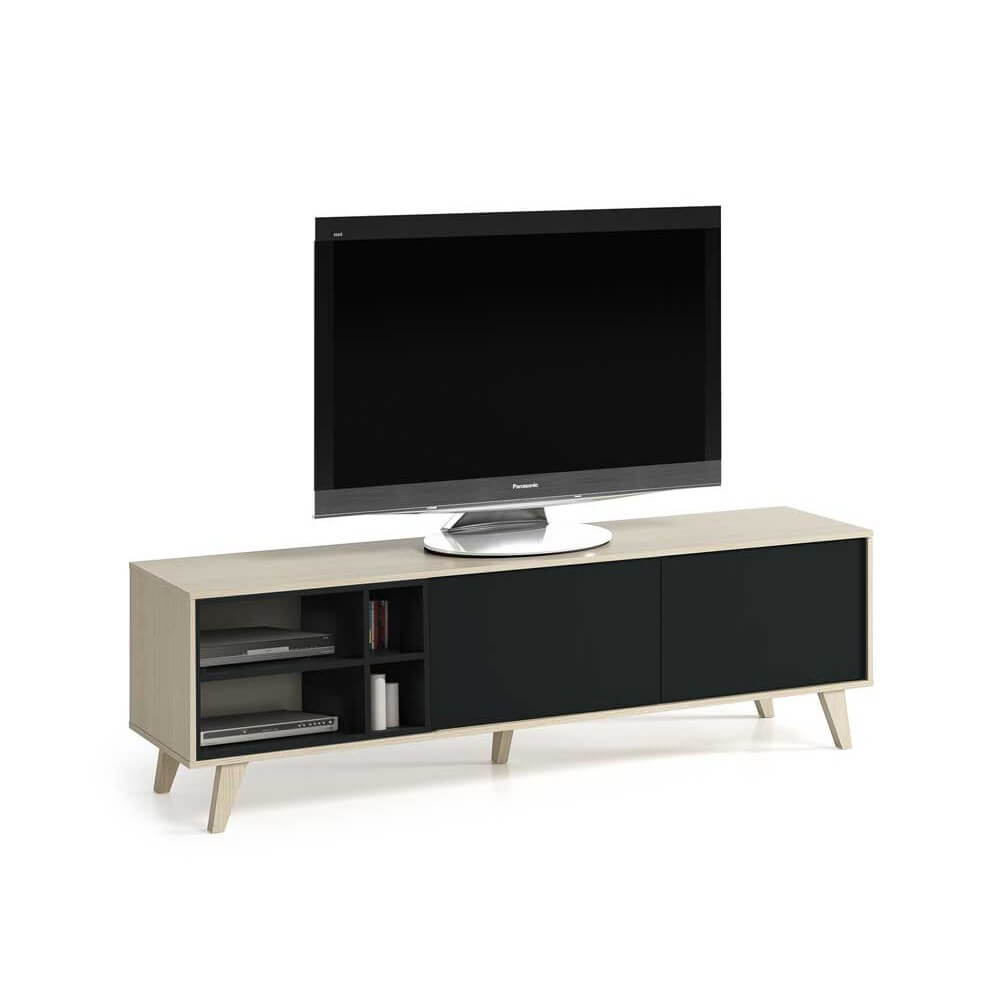 mueble saln tv modelo tbet - Muebles Diseo Baratos