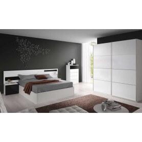 Conjunto dormitorio modelo Raya