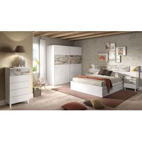 Conjunto dormitorio modelo Noruega