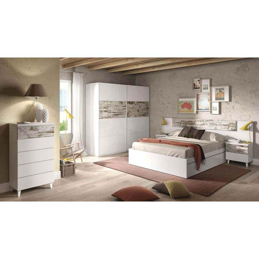 Fcmn conjunto dormitorio modelo noruega Muebles dormitorio