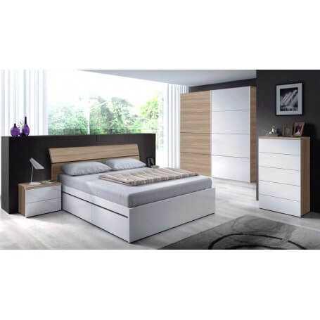 Conjunto dormitorio modelo Lara
