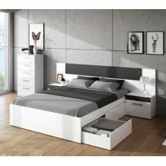 Conjunto dormitorio modelo Paz