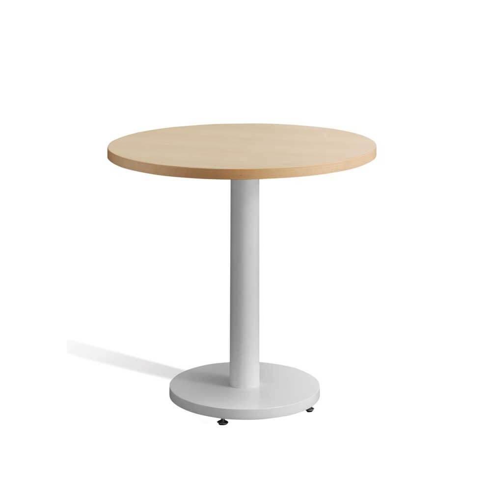 Mesa madera haya modelo finlandia for Mesa redonda madera