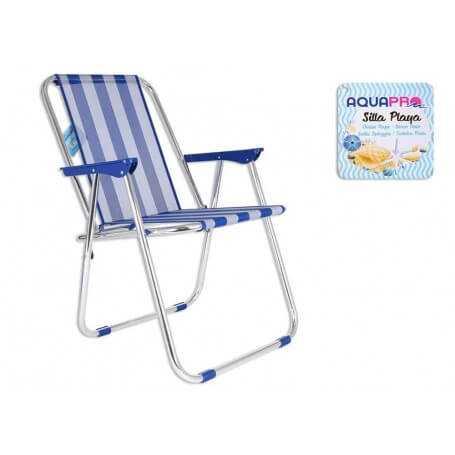 Silla de playa aluminio