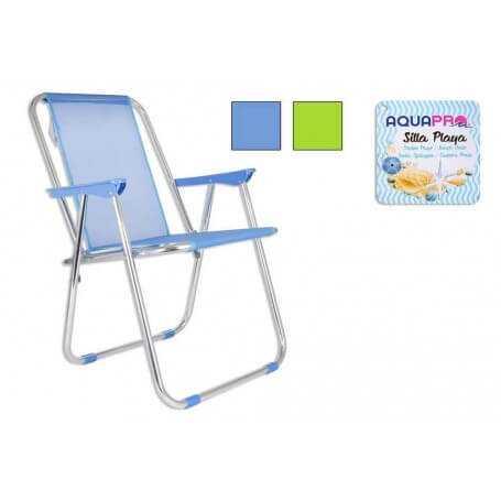 Shsp silla playa aluminio 5 posiciones - Silla playa aluminio ...