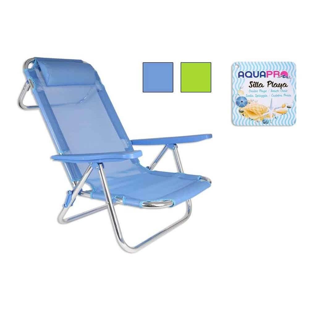 Shsp silla playa 5 posiciones s ldo for Sillas para jugar a la play