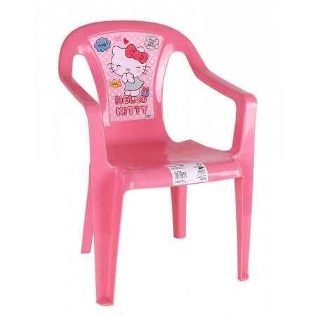 Shsi silla infantil pl stico kitty for Silla infantil plastico