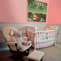 Dormitorio-juvenil-caperucita-Estor Fotográfico Blackout ''Sistema 38 y 43 mm'' - a medida