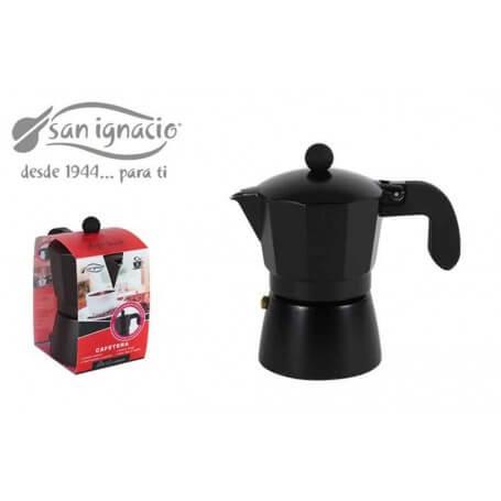 Cafetera 3 servicios darkblack san ignacio