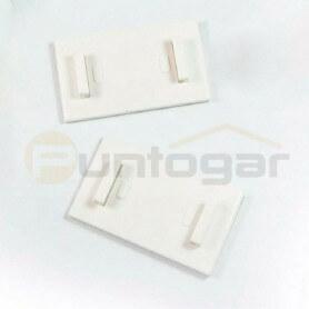 Soporte adhesivo para estores enrollables sin taladro
