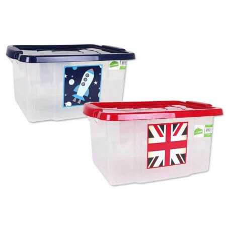 Caja organizadora 35L storage box