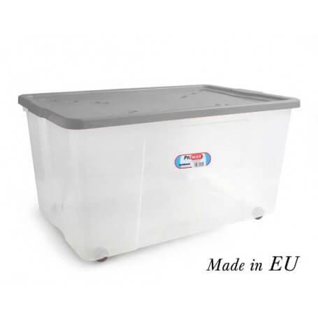 Caja organizadora 150L wheeled box con ruedas