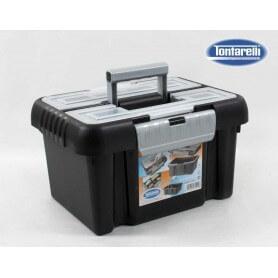Caja de herramientas con tapa útil 10L