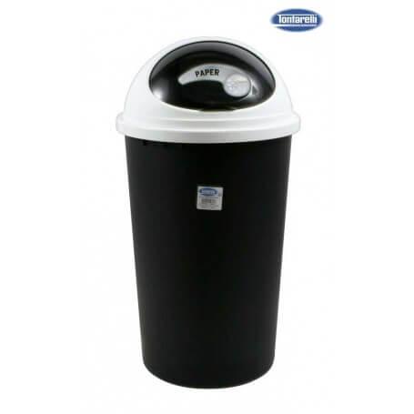 Cubo de basura con tapa 25L small hoop