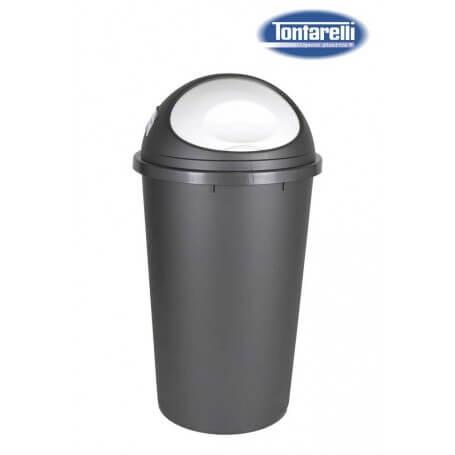 Cubo de basura con tapa 2 tamaños big hoop