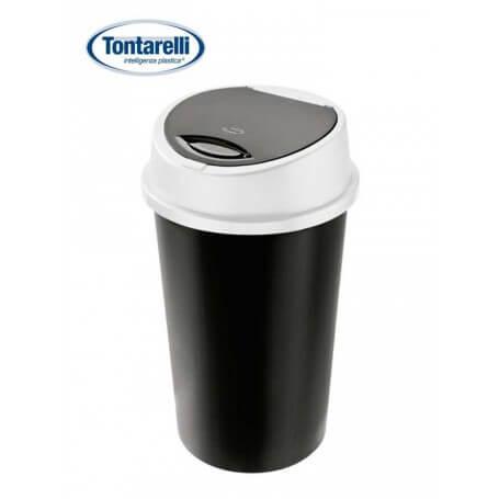 Cubo de basura con tapa push 2 tamaños
