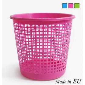 Papelera de plástico varios colores