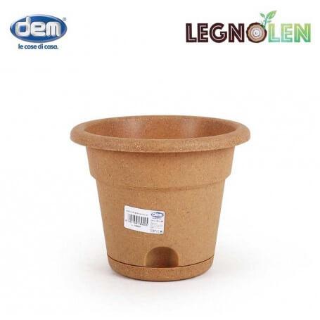 Pack de macetas en varios tamaños con reserva de agua Legnolen