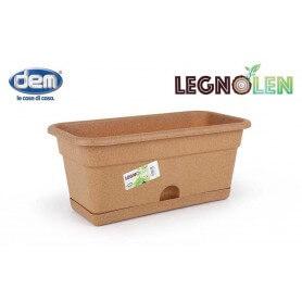 Pack de jardineras en varios tamaños con reserva de agua Legnolen