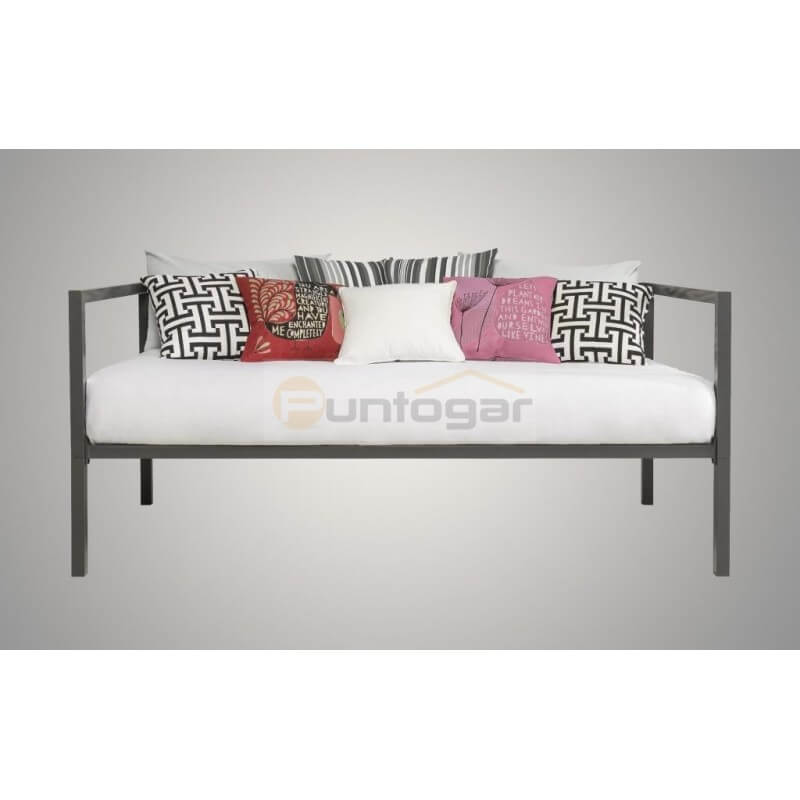 Fldb cama divan de forja modelo bora puntogar for Cama divan nina