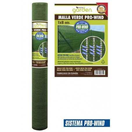 Pack malla verde ocultación Pro-Wind