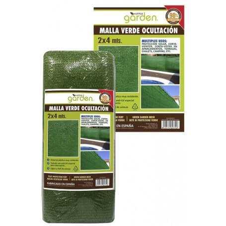 Pack malla verde ocultación 2x4 metros