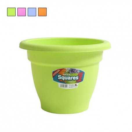 Pack maceta squares varios tamaños y colores