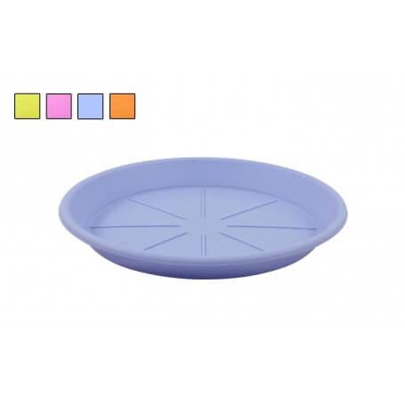 Pack de platos bajos squares colors varios tamaños y colores