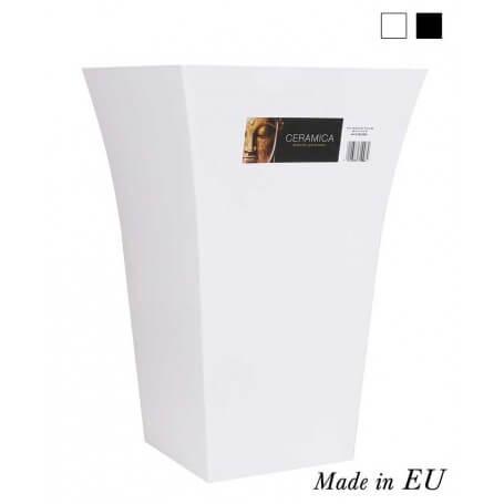 Pack cubre maceta cónica 24,5x37 cm cerámica