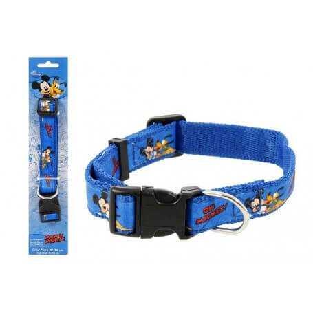 Pack collar para perro mickey azul