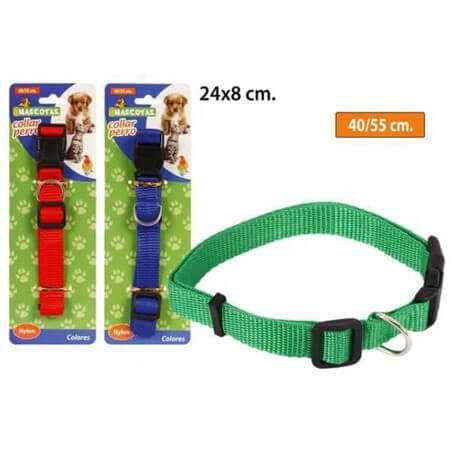 Pack collares para mascotas en varios colores 50 cm