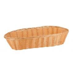 Pack cestas oval mimbre 36x15x7 cm