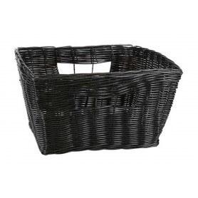 Pack cestas rectangulares mimbre 36x28x19 cm