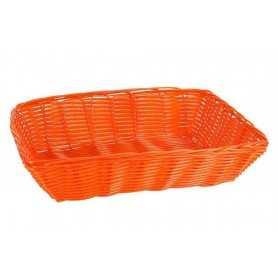 Pack cestas rectangulares mimbre 30x22x7 cm