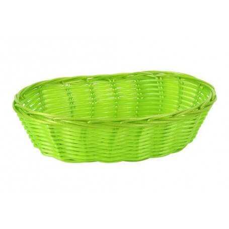 Pack cestas ovales mimbre 25x13x6 cm