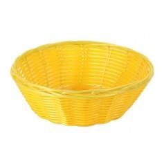 Pack cestas redondas mimbre 20x7 cm varios tamaños