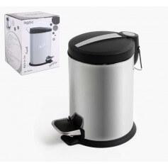 Pack cubos basura metal brillo varios tamaños