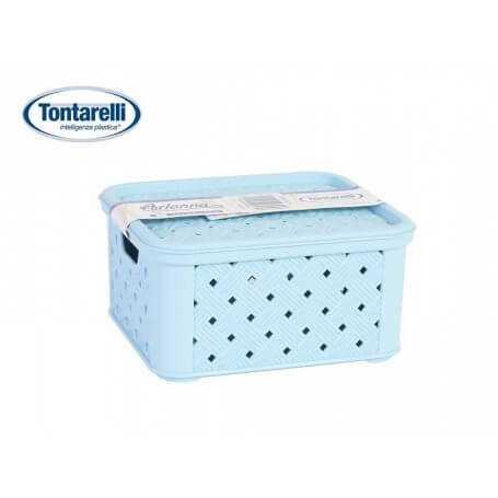 Caja almacenaje con tapa Arianna varios tamaños