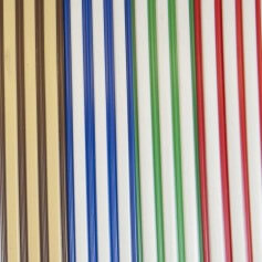 Cortina de cinta bicolor a medida