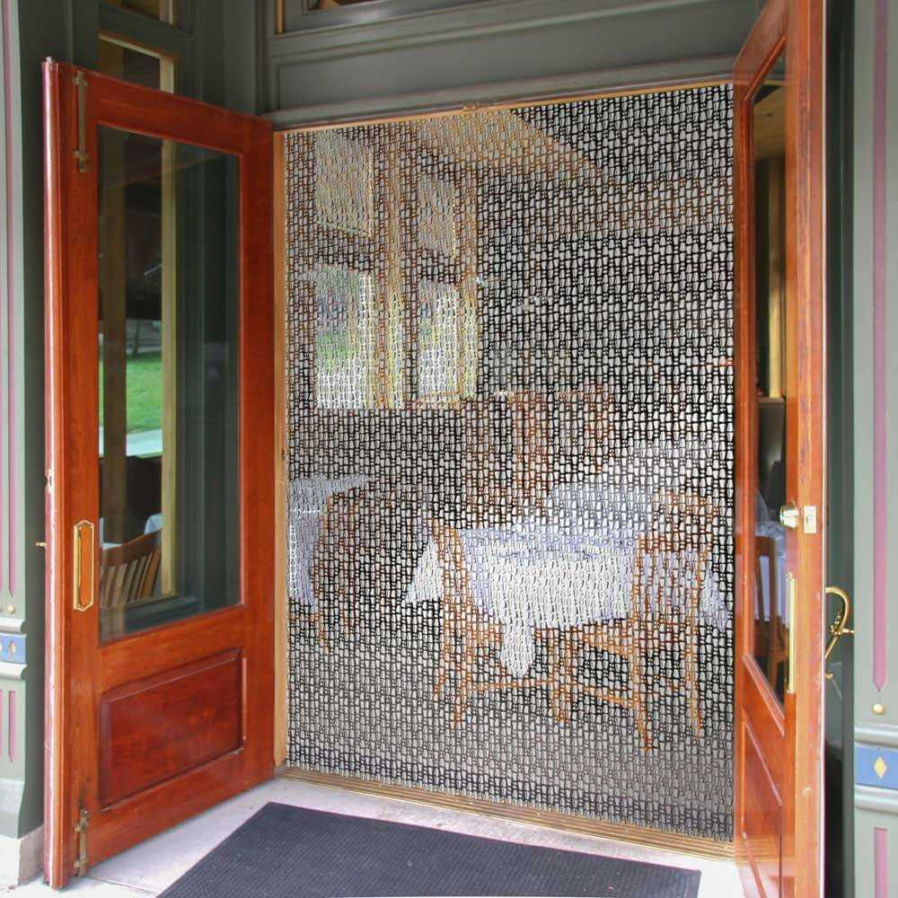 Cortina para puertas exterior pvc a medida for Donde venden cortinas