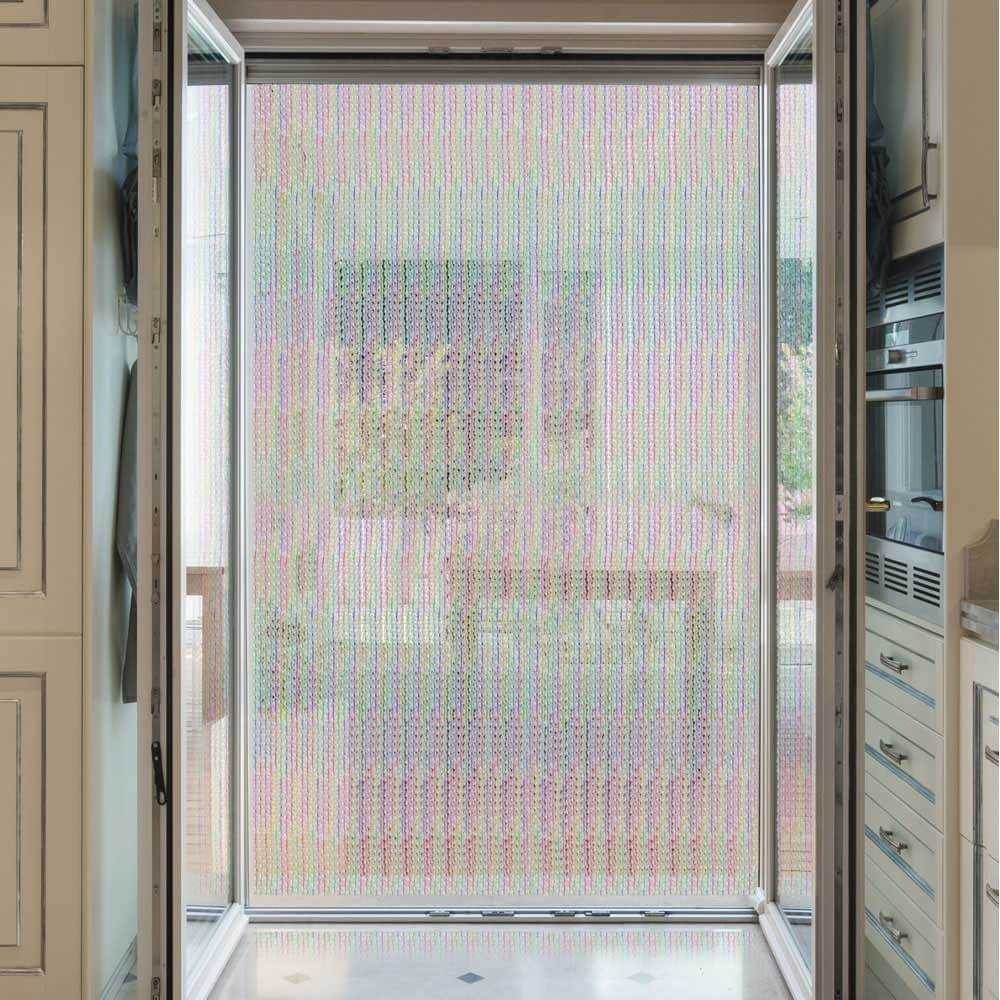 Cortina para puertas exterior pl stico a medida - Medida de puertas ...