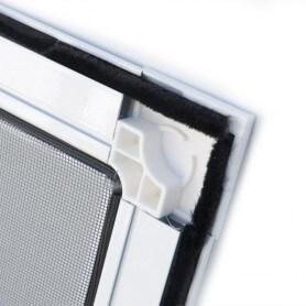 Mosquitera fija aluminio vista interior puntogar