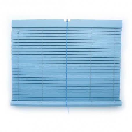 "Persiana alicantina madera pintada azul ""a medida"" Puntogar"