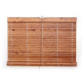 "Persiana alicantina madera cerezo barnizada ""a medida"" puntogar"